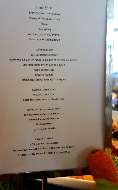Kaleandtell - Nationalmuseet - brunchmenu