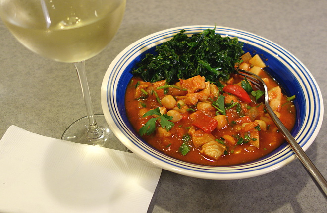 Kaleandtell - Bacalao con tomate
