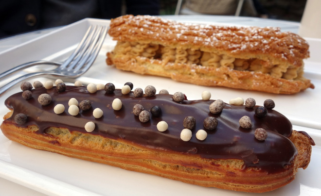 Kaleandtell - Eclairs fra Caprices By Sophie, Williamsburg, NY