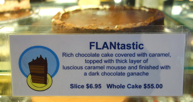 Kaleandtell - FLANtastic fra The Chocolate Bar