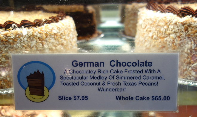 Kaleandtell - German Chocolate Cake hos The Chocolate Bar